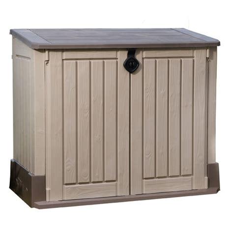 keter woodland midi storage box keter woodland store it out midi reviews wayfair
