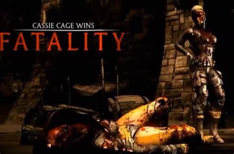 mortal kombat  fatalities gameplay product reviews net