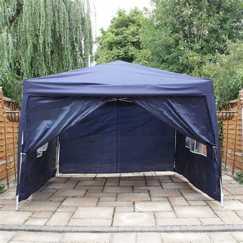 waterproof gazebo 3x3 heavy duty metal pop up gazebo canopy outdoor party tent wedding waterproof ebay