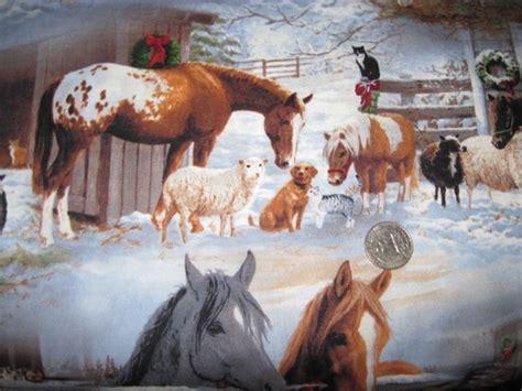 christmas horse fabric horses christmas horses horse