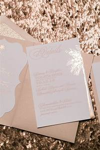 17 best images about rose gold wedding love on pinterest With rose gold foil wedding invitations cheap