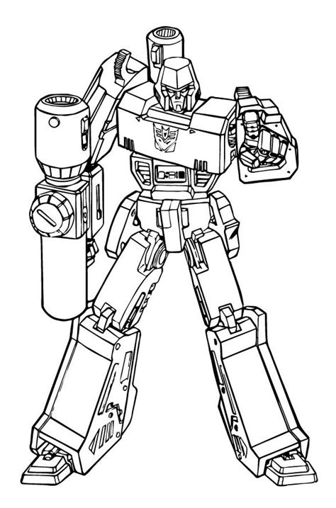 transformers coloring book megatron transformers coloring page coloring pages