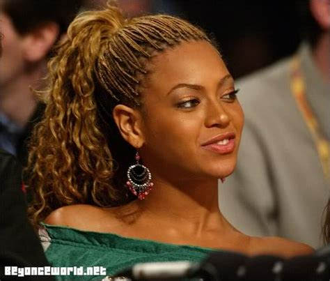 beyonce debuts new braids style at nas s party photos
