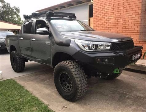 afn 4x4 bullbar toyota hilux revo n80 with hoops mitchell brothers 4x4