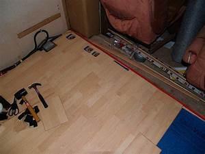 Laminate flooring laminate flooring trailer for How to lay down laminate flooring