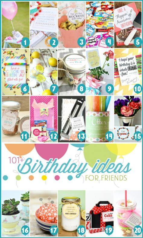 present birthday ideas birthdays 101 easy birthday gift ideas and free printables Great