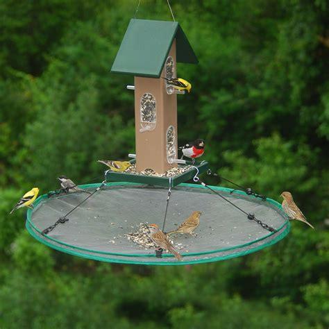 bird seed feeders seed hoop bird feeder seed catcher the green
