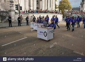 The Lord Mayors Show procession in the City of London ...
