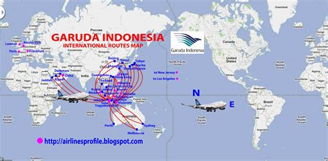international flights garuda indonesia route map