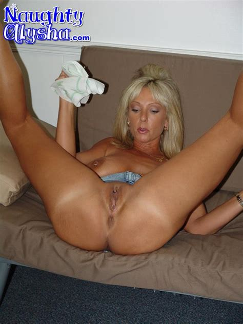 Tanned Blonde Milf Wearing Dark Top And Den Xxx Dessert