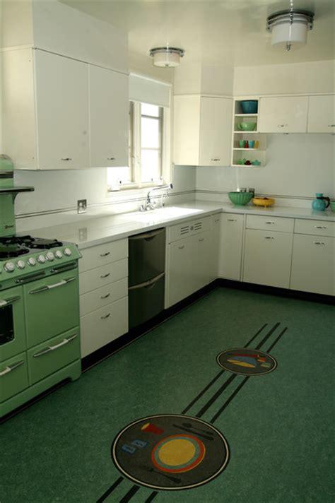 retro midcentury kitchen los angeles  crogan