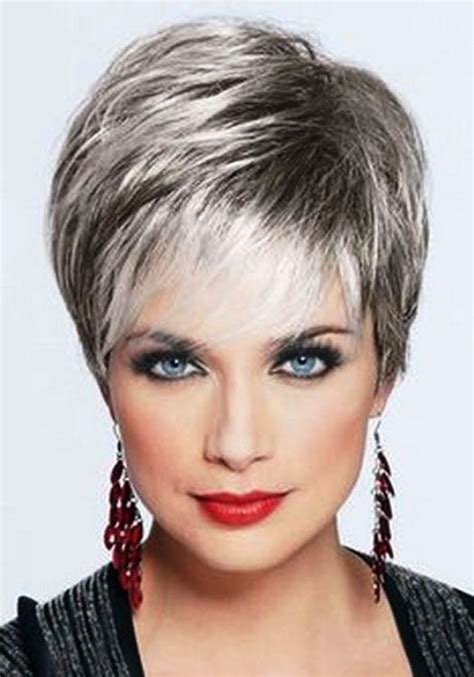 best gray hair styles best hairstyles for 50 faceshairstylist