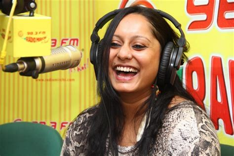 Shefali Alvares And The Distill Soul At The Mirchi Studio