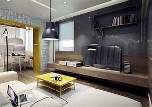 Wohnzimmer Ideen Wandgestaltung : wandgestaltung wohnzimmer hochglanz wandpaneele grau holz sideboard wohnzimmer arbucklelodging ~ Orissabook.com Haus und Dekorationen
