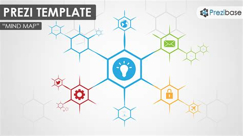 free mind map template infographic diagram prezi templates prezibase