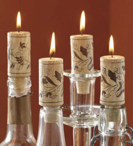 wine cork candle ideas   interior guide patterns