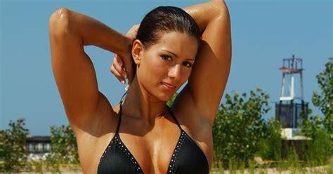 american gladiators babes phoenix jennifer widerstrom black bikini