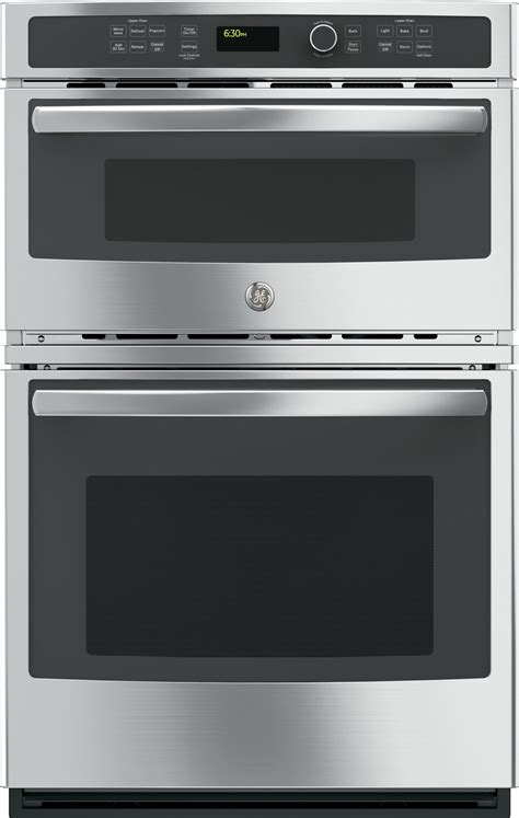 jkshss ge  built  combination microwavethermal wall oven stainless steel