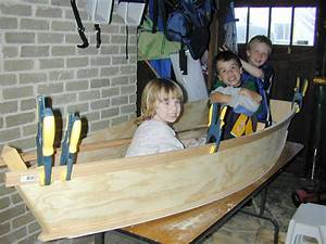 Plywood Rowboat (one sheet) - by GenieBean @ LumberJocks