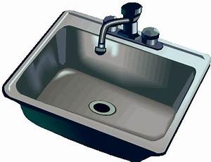 Sink kitchen faucet clipart clipartfest - ClipartPost