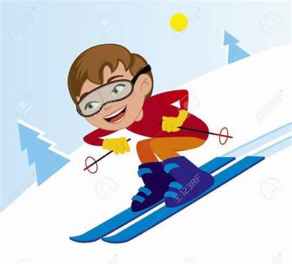 Skiing Clipart Downhill Skier Winter Snow Ski
