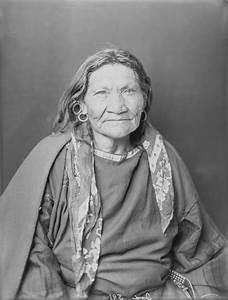 Blackfoot Woman 1900 ... I looked very close at this ...