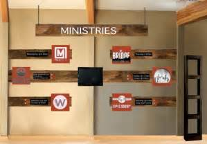 Church foyer ministry wall final plan
