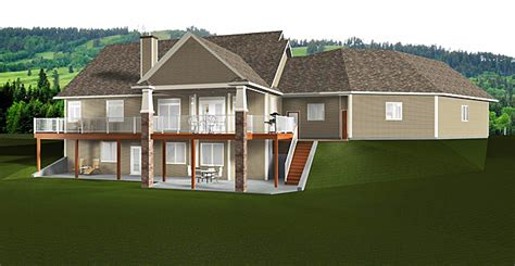 Bungalow House Plan 2014805