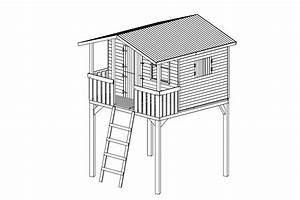 Stelzenhaus Selber Bauen : stelzenhaus tom spielturm kinder spielhaus baumhaus ~ Watch28wear.com Haus und Dekorationen