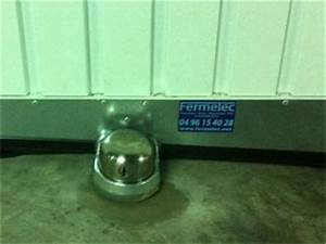 portes de garage fermelec With protection porte de garage