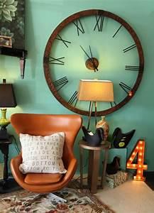 Grande Horloge Murale Originale : la tendance horloges murales d corez avec du style ~ Teatrodelosmanantiales.com Idées de Décoration