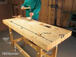 Build a Work Bench On a Budget The Family Handyman