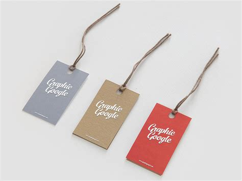 The best free psd packaging mockups we've found from the amazing sources. Free Label Hang Tag Mockup | Mockuptree