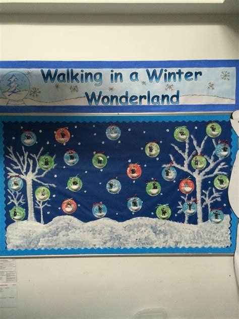 walking   winter wonderland display  eyfs birthday