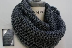 Echarpe Homme Tricot : comment tricoter un foulard infinity ~ Melissatoandfro.com Idées de Décoration
