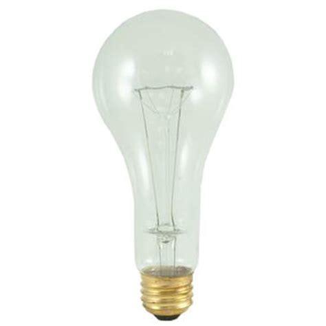 200 watt high lumen incandescent a shape clear light bulbs