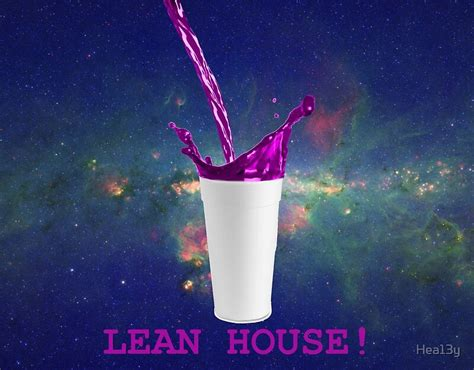 """foto de """"Lean House Purple Drank Sizzurp Drink """" Posters by"""