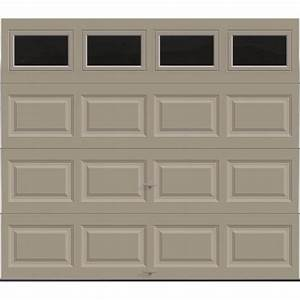 clopay premium series 8 ft x 7 ft 184 r value With 18 ft garage door panels