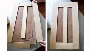 Resurface Cabinet Doors - YouTube