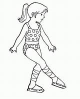 Skating Coloring Ice Pages Skater Figure Drawing Olympic Skate Printable Roller Craft Copic Crafts Skateboard Mandala Popular Getcoloringpages Getdrawings Christmas sketch template