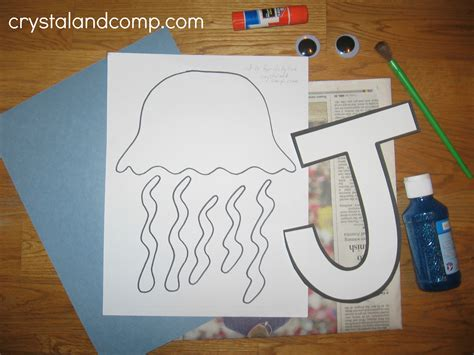 alphabet activities for preschoolers j is for jelly fish 356 | J is for jellyfish 2 crystalandcomp