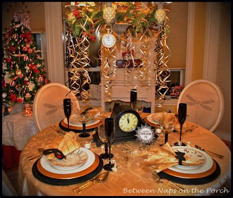 years tablescapes  table settings