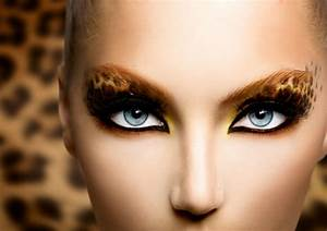 Karneval Gesicht Schminken : leoparden look schminken ~ Frokenaadalensverden.com Haus und Dekorationen