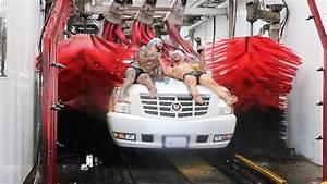 Human Car Wash Challenge