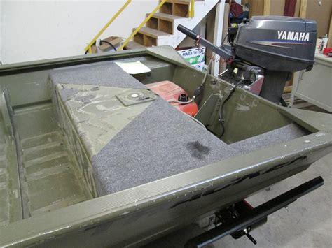 Jon Boat Seat Mount Ideas by Custom Fabrication Fishon Fabrications