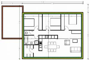 oui je sais la rt cuest la surface habitable en ouverture With good plan maison avec patio 7 maison plain pied 2 chambres plans amp maisons