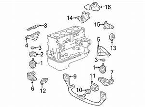 Volkswagen Passat Wagon Bracket  Mount  Support  1 8 Liter