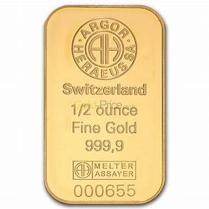 Gold Bar Price Comparison Buy 1 2 Ounce Gold
