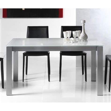 table repas extensible table repas extensible twelve 140 x 85 cm verre achat