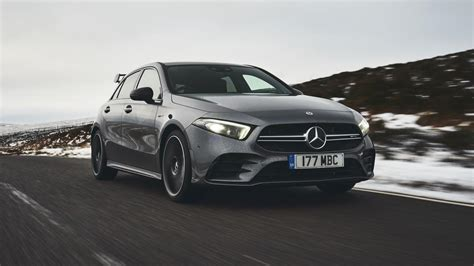 It rides and drives well, and it hosts exceedingly clever technology features. 2020 Mercedes-Benz AMG A35 Review   Top Gear